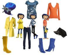 Coraline; Maybe Lil's costume?