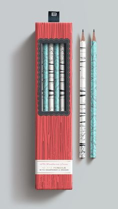 Woodland Series by Franklin Mill, via Behance