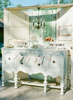 Buffet and doors