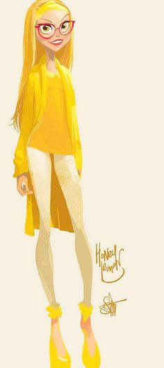 Honey Lemon by Otto Schmidt * ★ Find more at http://www.pinterest.com/competing/