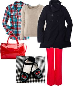 """Preppy Fall Outfit"" by magpie2516 on Polyvore"