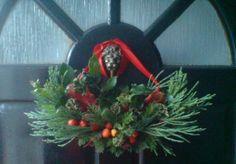 xmas wreath - crescent