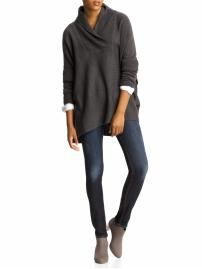$69 Definitely an option for fall... love the contrast sleeves peeking through