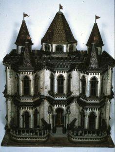 """French """"Fantasy"""" dollhouse  circa 1890-1920"""