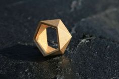Geometrically Structured Gems - ButterscotchofBK Jewelry is Full of Shapes and Movement (GALLERY)