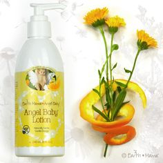 Gentle Angel Baby Lotion is baby safe skin care, blended with organic herbal ingredients to moisturize and protect sensitive, delicate skin. For babies of all ages - top to bottom, cheeks to cheeks. With organic Calendula and Rooibos, soothing to dry skin, eczema, diaper and skin rash.