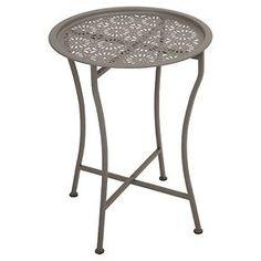 Daisy Tray Side Table - Dar