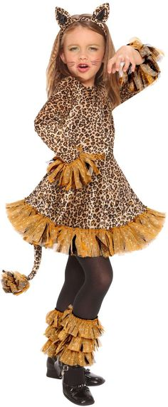 Leopard Dress Child Costume  sc 1 st  Pinterest & cheetah costume | Things Iu0027ve made | Pinterest | Cheetah costume ...