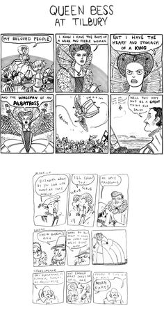 Hark! A Vagrant by Kate Beaton is probably the bestest webcomic out there right now.