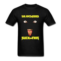 SUNRAIN Men's Die Antwoord Suck On This T Shirt - Brought to you by Avarsha.com