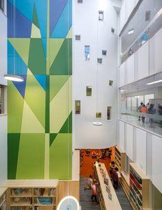 Elementary School Bathroom Design woodland elementary school / hmfh architects | elementary schools