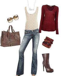 """""""Fall Casual"""" by agrainger on Polyvore"""