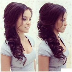 Now this is a beautiful hairdo for that special day!