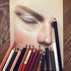 By Artist 🎨 bahardaghighroohi Paint Paint, Eyes Artwork, Anatomy Sketches, Lipstick, Sketching, Persian, Artist, Pencil, Paintings