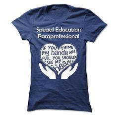 Special Education Paraprofessional  - #custom hoodie #vintage sweatshirts. OBTAIN => https://www.sunfrog.com/No-Category/Special-Education-Paraprofessional--Ladies.html?id=60505