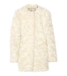 Mohair and cotton-blend coat  by Miu Miu #matchesfashion