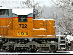 RailPictures.Net Photo: NECR 722 New England Central EMD SD40-2 at Palmer, Massachusetts by Mike Young