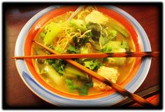 Chinatown Grocery Inspired Noodle Soup