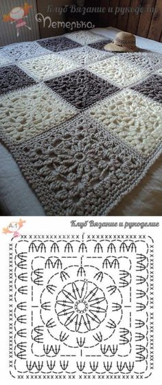 Love scrap use maybe that happens to all old knitters and crocheters lol jh crochet fox crochet gifts love crochet crochet granny crochet squares crochet lace crochet motif crochet stitches crochet patterns – ArtofitCal crochet in boom flower square fre Crochet Diy, Manta Crochet, Crochet Chart, Crochet Home, Crochet Motif, Crochet Ideas, Crochet Stitches, Crochet Diagram, Crochet Round
