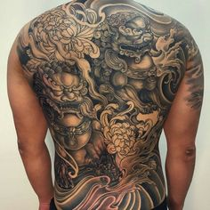 Check out this dope Asian inspired piece by @khuong_daruma