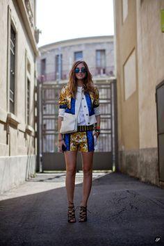 Milano streets fashion.