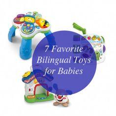 Hablas Español? My 7 Favorite Bilingual Toys for Babies
