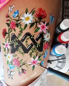Cool Tattoos, Tatoos, Fan Art, Colours, In This Moment, My Love, Drawings, Cute, Tattoo Art