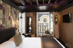 и 2 Twin Beds, Latin Quarter, Extra Bed, Comfy Bed, France, Paris, Smoking Room, Queen Beds, Great View