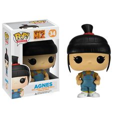 Agnes is the cute little sister from the Despicable Me movies. Description from thlog.com. I searched for this on bing.com/images