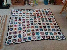 African Flower Square Blanket 2018 African Flowers, Square Blanket, Rugs, Instagram Posts, Blog, Home Decor, Farmhouse Rugs, Decoration Home, Room Decor