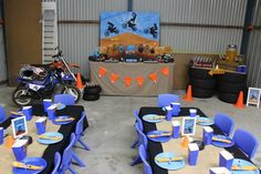 Dirt Bike Themed Birthday Party with Lots of Awesome Ideas via Kara's Party Ideas | Kara'sPartyIdeas.com #Motorcross #DirtBike #Party #Ideas #Supplies (19)