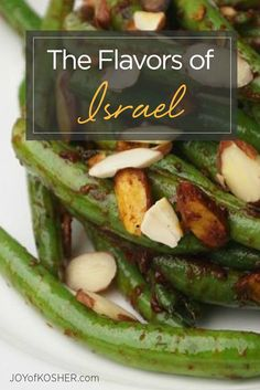 This weeks Shabbat menu is all about the flavors of Israel!