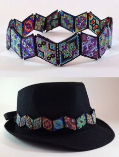 b125395ae9d Nancy Jenner - Warped Square choker hatband