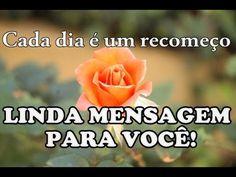 O DIA DE HOJE - LINDA MENSAGEM DE REFLEXÃO - Vídeo para WhatsApp - YouTube