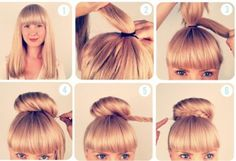 Braided bun hairstyles brand new ideas to copy - Hollywood Official