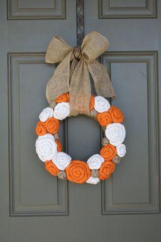 Pick Size/Fall Jute Yarn Wreath/Halloween/Thanksgiving/Wedding/Burlap Flowers/Roses/Yarn Balls