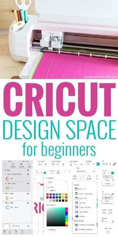 Full Cricut Design Space Tutorial For Beginners - January 2019 Update - Cricut ideas - How To Use Cricut, Cricut Help, Cricut Apps, Free Fonts For Cricut, Cricut Fonts, Design Ikea, Web Design, Design Art, 2020 Design