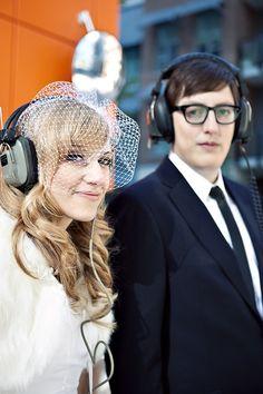 A Classy, Vintage, Music-Inspired, Canadian Wedding - Bridal Musings Wedding Blog