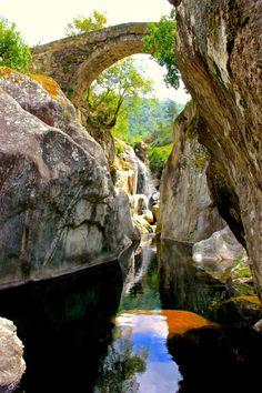 theencompassingworld:  visitheworld:  Ponte da Misarela /...