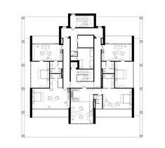 Hotel in Relax Park Verholy,Third Floor Plan