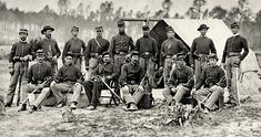 19th Indiana Infantry Regiment, part of the Iron Brigade.