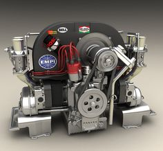 VW 1835 engine | look at this beatiful thing