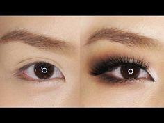 Smokey Eye Makeup for Hooded or Asian Eyes - YouTube