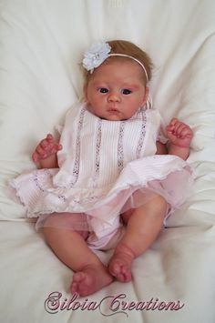 Harlow by Laura Tuzio-Ross - Online Store - City of Reborn Angels Supplier of Reborn Doll Kits and Supplies