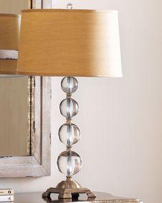 Crystal Ball Table Lamp - Neiman Marcus