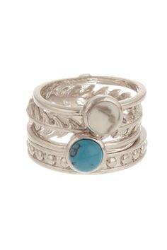 Beyond Rings Hermes Stack Ring Set