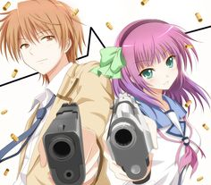 Angel Beats by バイオレットシット (This is a great anime also. I highly highly recommend.)