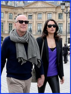 Bruce Willis Enjoys A Visit To Place Vendôme