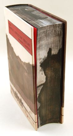 I love how the cover design flows onto the fore edge of this book. http://www.amandanelsen.com/images/bk_indian_lg.jpg