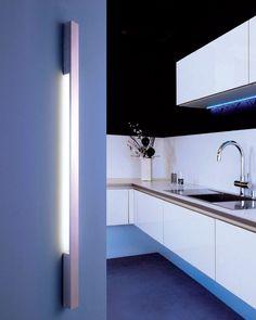#LED Wandleuchten, nicht nur für Ihre Küche http://led-ideenwelt.de/LED-Leuchten/Led-Wandleuchten/
